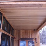 Suspended Wood Ceiling - Snowy Owl Theater - Leavenworth, WA -2012