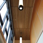 Suspended Wood Ceiling - Snowy Owl Theater - Leavenworth, WA -2012 (2)